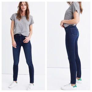 """Madewell 10"""" High Rise Skinny Skinny Jeans 26"""